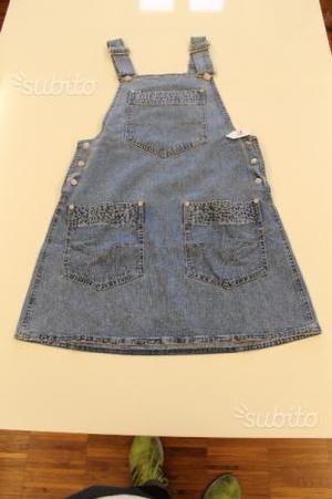 Salopette Jeans Donna Gianni Versace