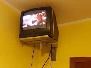 """Televisore 15"""" con supporto a muro"""