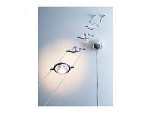 Termosfar lampade basso consumo iikea cromato e bianco