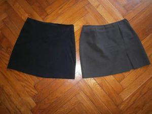 2 minigonne taglia 38