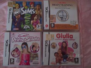 4 Giochi originali Nintendo DS
