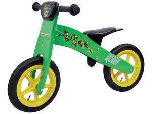 Bici bicicletta bambino turtles ninja 12 pollici in legno