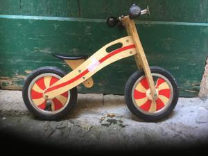 Bicicletta senza pedali legno Città del Sole