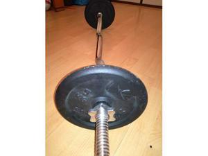 Bilancere con pesi