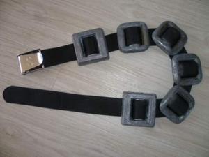 Cintura sub Scubapro fibbia inox con 8 kg pesi