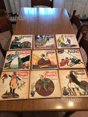 Dischi durium le avventure di Pinocchio