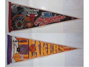 Gagliardetti NBA fine anni '90