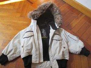 Giacca bambino invernale con cappuccio REFRIGUE taglia 2