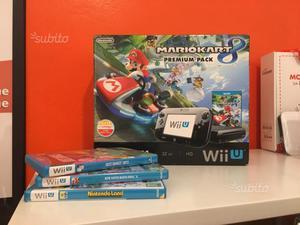 Nintendo Wii U 32 gb premium pack MARIO KART 8