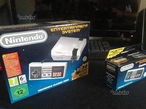 Nintendo classic mini + joypad aggiuntivo(mini nes