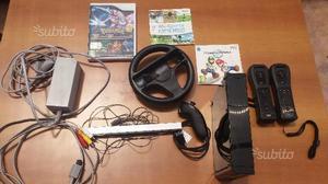 Nintendo wii + giochi + accessori