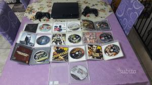 PS3 slim 320 gb con 10 giochi + 2 joipad