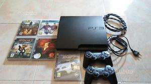 Ps3+2 controller e 5 giochi