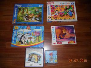 Puzzle- Pinocchio,Silvestro,Re Leone, Bambi,hans de beer
