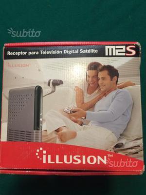 Ricevitore digitale Satellite Illusion M2S