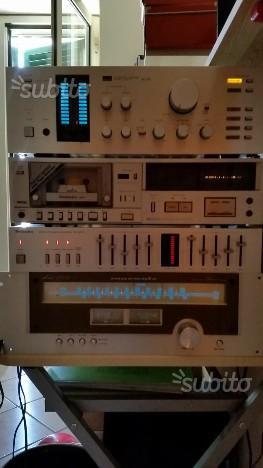 Stereo vintage completo Marantz Sansui Technics