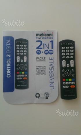 Telecomando universale 2 in 1