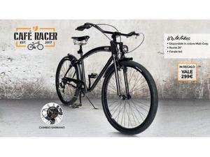 Vendo bici nuova unieuro racecafe nera