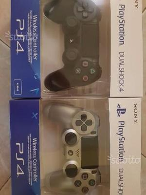 Wireless controller nuovi sigillati ps4