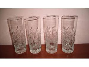 4 bicchieri bibita, anni 60