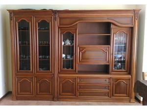 Arredamento casa mobili soggiorno cucina noce nazionale