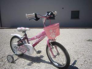 Bicicletta Teddy bimba 3-6 anni