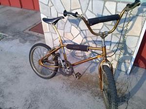 Bmx vintage anni 80 color oro