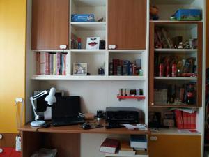 Scrivania Ad Angolo Con Libreria : Armadio libreria letto ad incasso posot class