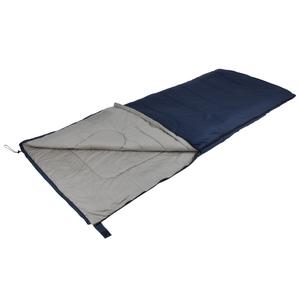 Camp Gear Sacco a Pelo Comfort 215x85 cm Grigio e Blu