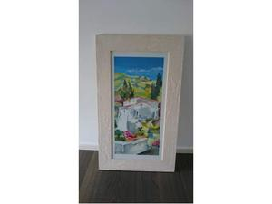 Cornice 43,5 x 70 cm effetto anticato - NUOVA