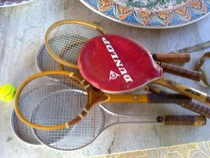 Lotto 5 racchette da tennis vintage anni '70