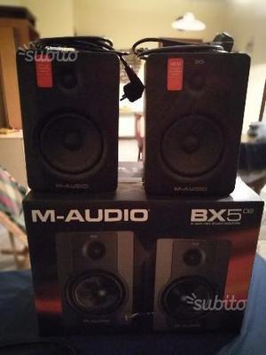 M-Audio BX5 D2 coppia di casse attive