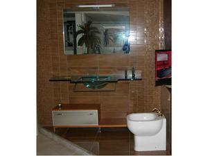 Vendo top bagno cristallo posot class - Vendo mobile bagno ...
