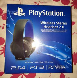 Sony PlayStation Headset Cuffie