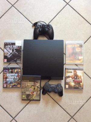 Sony Ps 3 più 5 giochi e 2 joystick