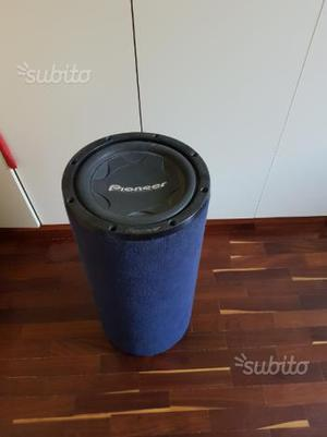 Subwoofer pioneer the pump posot class for Box subwoofer in vetroresina