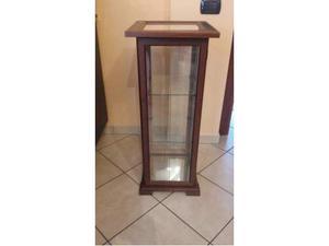 Vetrina - vetrinetta in legno e vetro - espositore