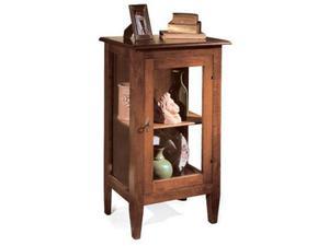 Vetrinetta cod 028 in legno massello in stile classico