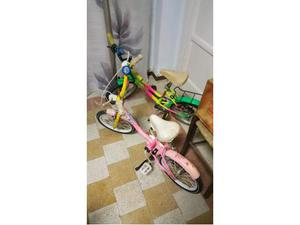 2 bici da bambini