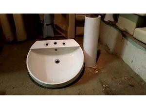 Lavabo ceramiche Cidneo con colonna bianco