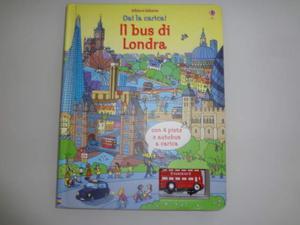 Libro BUS LONDRA con bus a carica e percorsi