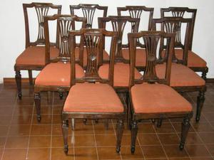 Nove sedie noce XVIII secolo