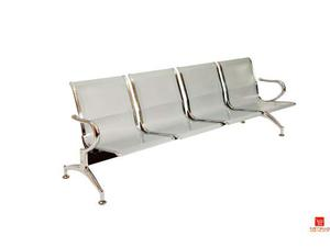 Panche e sedie ufficio per sale d'attesa con 4 sedute