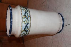 Vaso portaombrelli in ceramica posot class - Portaombrelli in ceramica bianca ...