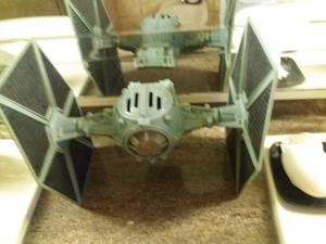 STAR WARS GIGANTE IMPERIAL Tie Fighter giocattolo vintage