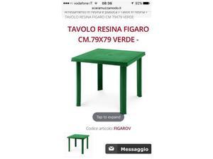 Set Tavolo con 2 sedie da esterno