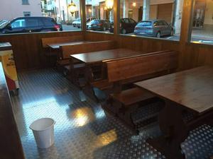 Set completi di Panche e tavoli per pizzeria pub