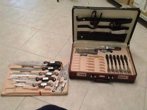 Set completo coltelli in valigia Von Meister