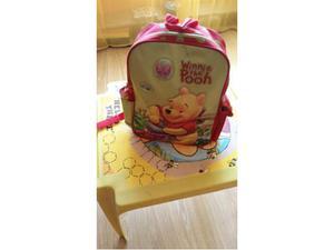 Tavolino e zaino Disney Winnie the pooh