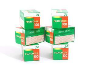 6 Rullini Fujifilm Fujicolor 100 asa